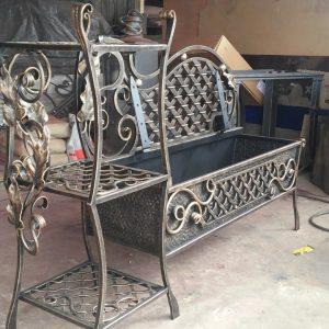 Кованая мебель Винтажные кованая мебель Арт. М-007 Norkovka