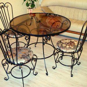 Кованая мебель Комплект кованой мебели Арт. М-013 Norkovka