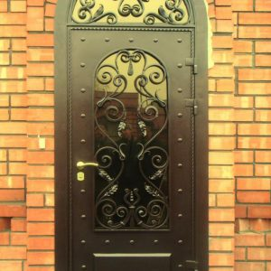 Кованые двери Металлическая кованая дверь Арт. Д-001 Norkovka