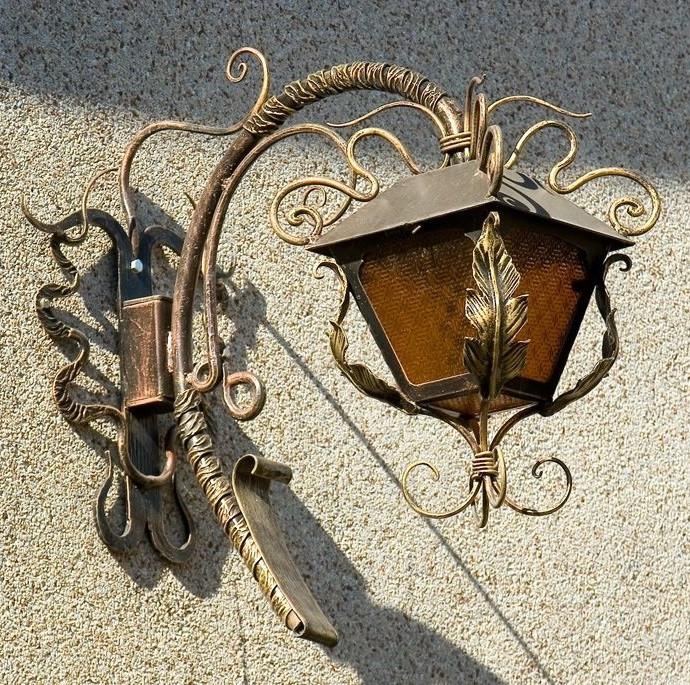 Кованые люстры, светильники Миниатюрный кованый светильник Арт. С-009 Norkovka