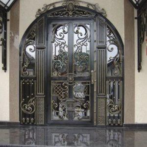 Кованые двери Входная кованая дверь Арт.Д-006 Norkovka